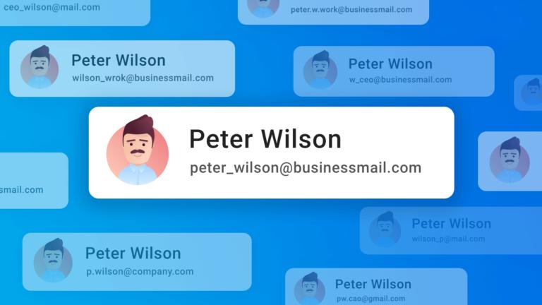 Professional e-mail id